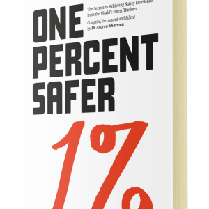 An image of the One Percent Safer Book